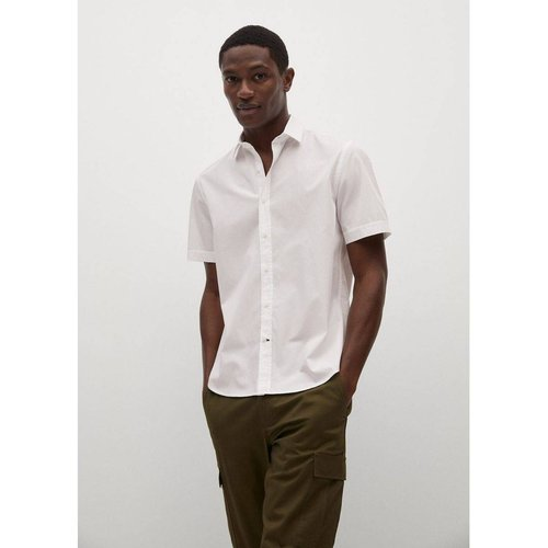 Chemise regular-fit coton manches courtes - mango man - Modalova