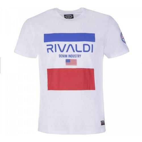 T-shirt blanc - RIVALDI - Modalova