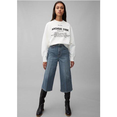 Jeans TOLVA wide taille haute en coton biologique - Marc O'Polo - Modalova