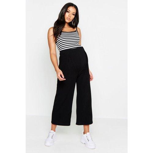 Pantalon de grossessse large - BOOHOO MATERNITY - Modalova