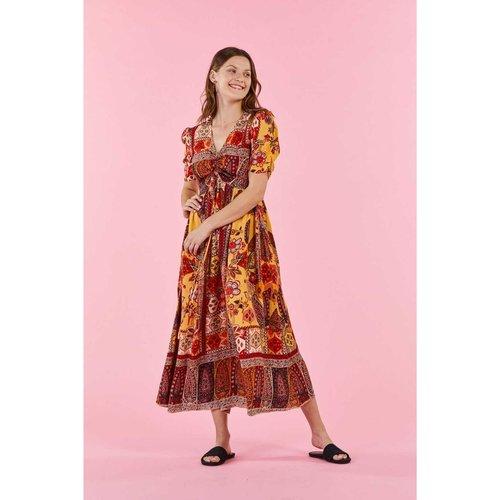 Robe imprimée ethnique - SALTIMBANQUE - DERHY - Modalova
