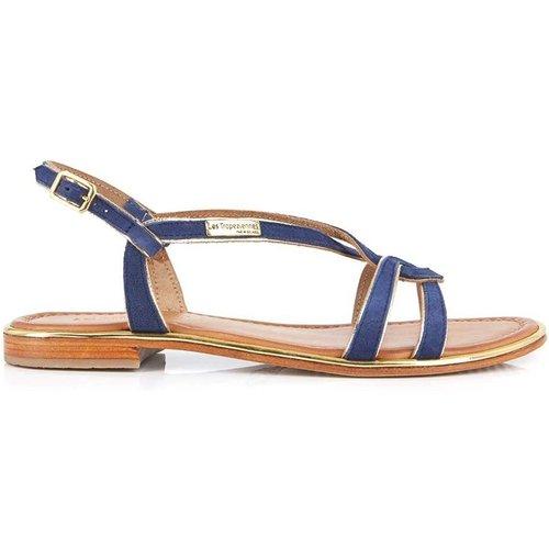Sandales entre-doigts en cuir HALIA - LES TROPEZIENNES PAR M BELARBI - Modalova