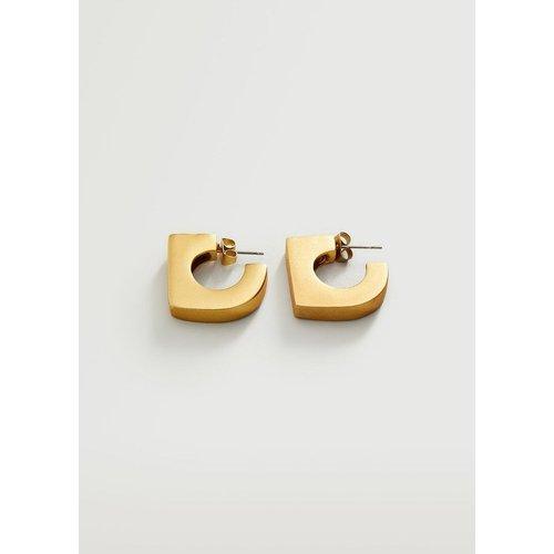 Boucles d'oreilles asymétriques - Mango - Modalova