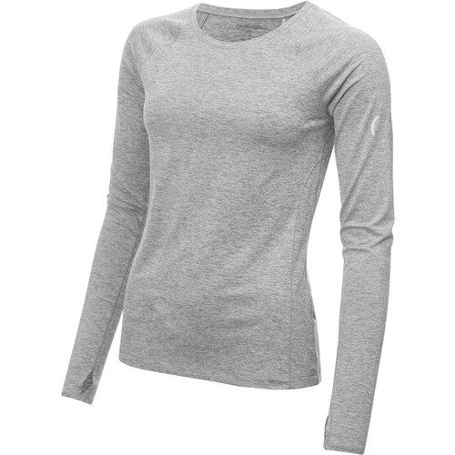 T-shirt à manches longues, col rond - Calvin Klein - Modalova