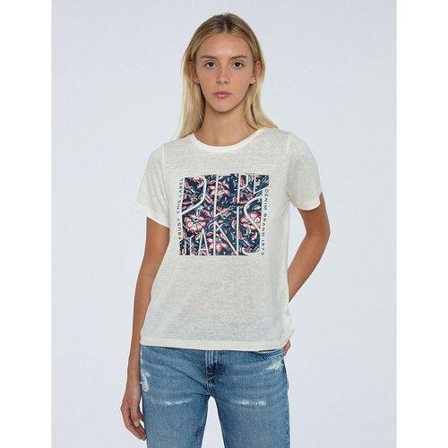 T-shirt, motif devant - Pepe Jeans - Modalova