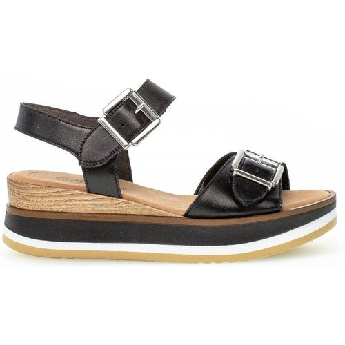 Sandales à semelles plates cuir - Gabor - Modalova