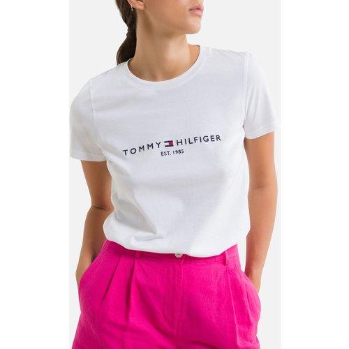 Tee shirt col rond manches courtes - Tommy Hilfiger - Modalova