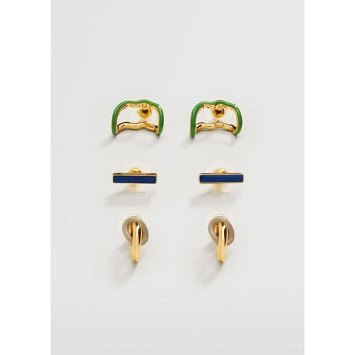 Boucles d'oreilles perles combinées - Mango - Modalova
