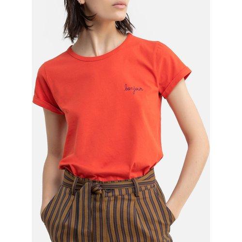Tee shirt en coton bio col rond BONJOUR - MAISON LABICHE - Modalova