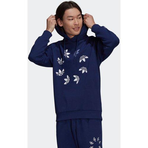 Sweat-shirt à capuche Adicolor Shattered Trefoil - adidas Originals - Modalova