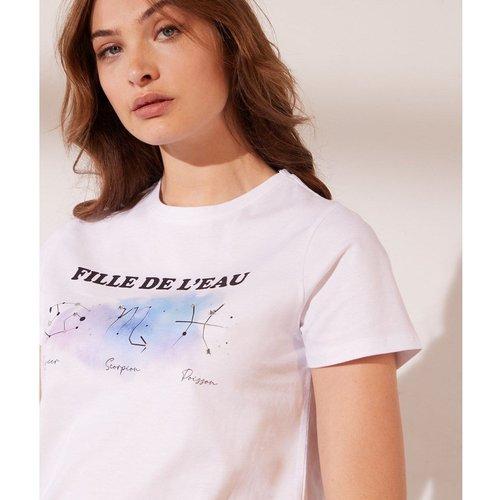 T-shirt imprimé 'fille de l'eau' EAU - ETAM - Modalova