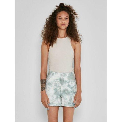 Shorts en jean Tie dye - Noisy May - Modalova