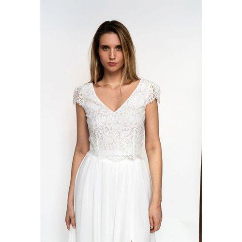 Haut de mariée INDIA, made in France - HARPE - Modalova