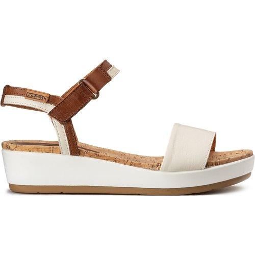 Sandales cuir compensées Mykonos - Pikolinos - Modalova