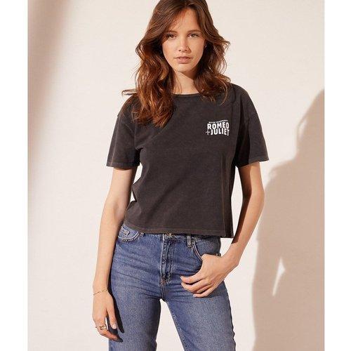 T-shirt col rond manches courtes ROMEO - ETAM - Modalova