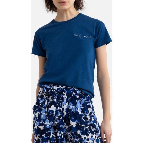 Tee shirt en coton bio col rond FRIDAY - MAISON LABICHE - Modalova