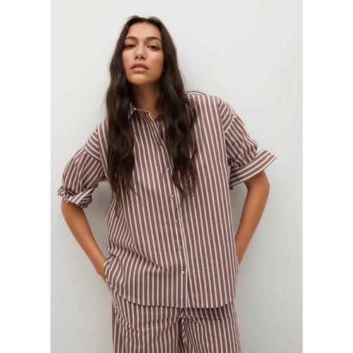 Chemise coton à rayures - Mango - Modalova