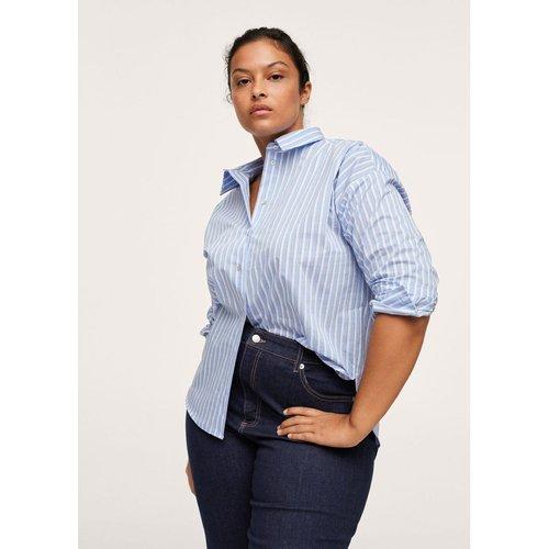 Jupe-culotte jean taille normale - Mango - Modalova