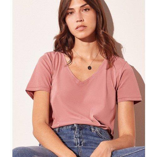 T-shirt col v MAGGIE - ETAM - Modalova