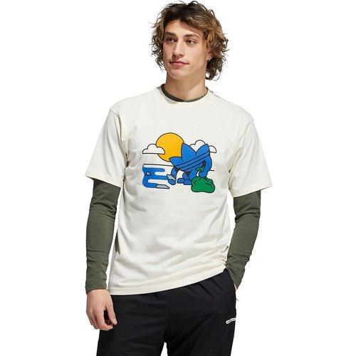 T-shirt manches courtes treffy - adidas Originals - Modalova