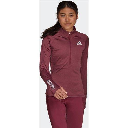 T-shirt Adizero 1/2 Zip Long Sleeve - adidas performance - Modalova