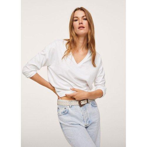 T-shirt 100% coton - Mango - Modalova