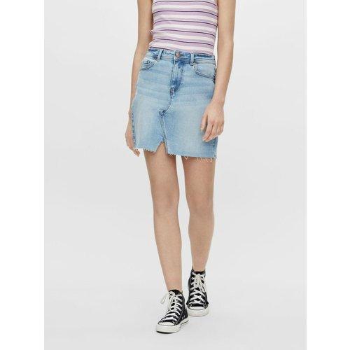 Jupe en jean Mini - Pieces - Modalova