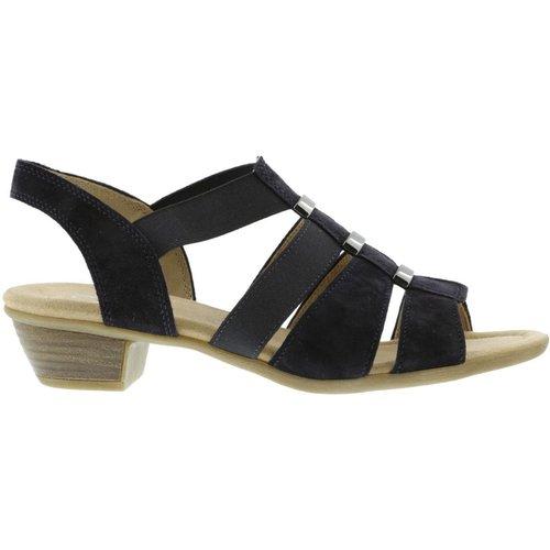 Sandales velours talon bloc recouvert - Gabor - Modalova