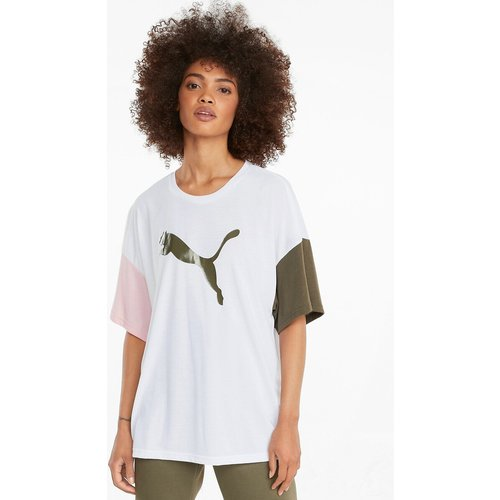 Tshirt col rond manches courtes bicolores - Puma - Modalova