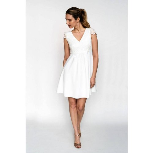 Robe de mariée AMOURETTE, made in France - HARPE - Modalova