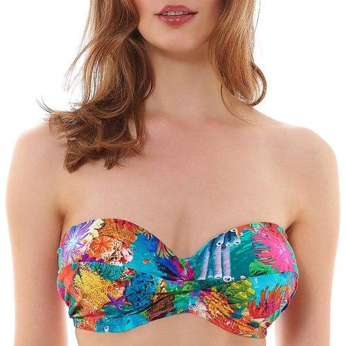 Haut de maillot de bain bandeau twisté à armatures Under the sea Reef - Freya - Modalova