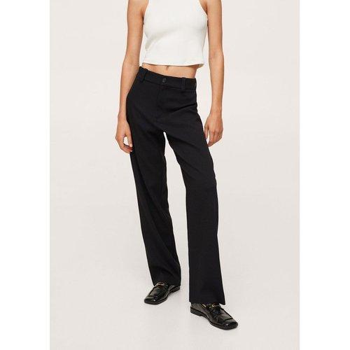 Pantalon droit taille haute - Mango - Modalova