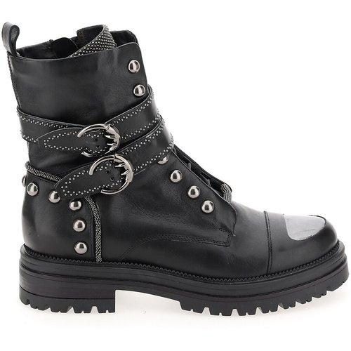 Boots en cuir multiboucles - MJUS - Modalova