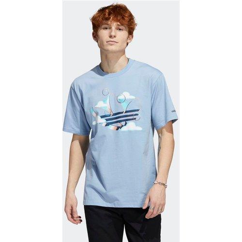 T-shirt Summer Trefoil - adidas Originals - Modalova