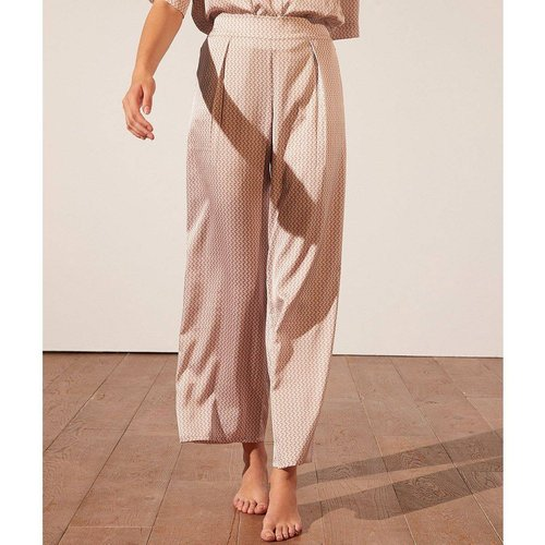 Pantalon de pyjama satiné imprimé ERINA - ETAM - Modalova