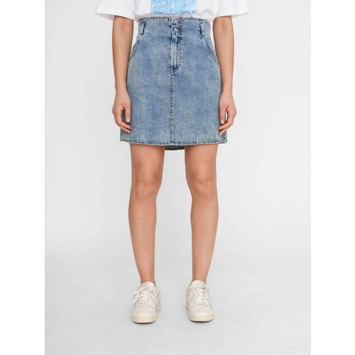 Jupe en jean Short taille haute - Noisy May - Modalova