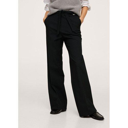 Pantalon Wideleg taille haute - Mango - Modalova