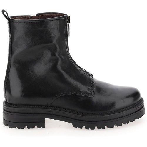 Boots en cuir zippées - MJUS - Modalova