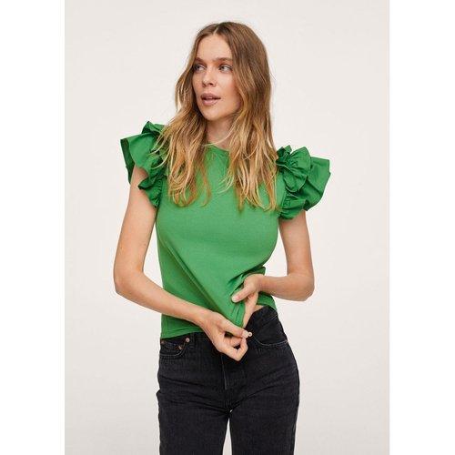 T-shirt manches volantées - Mango - Modalova