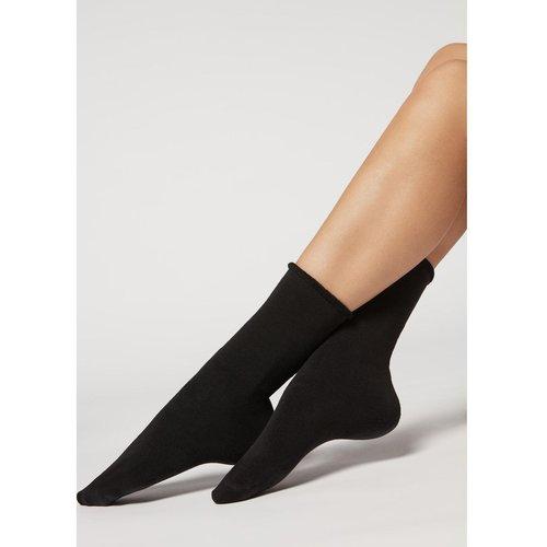 Chaussettes longues en coton thermique - CALZEDONIA - Modalova