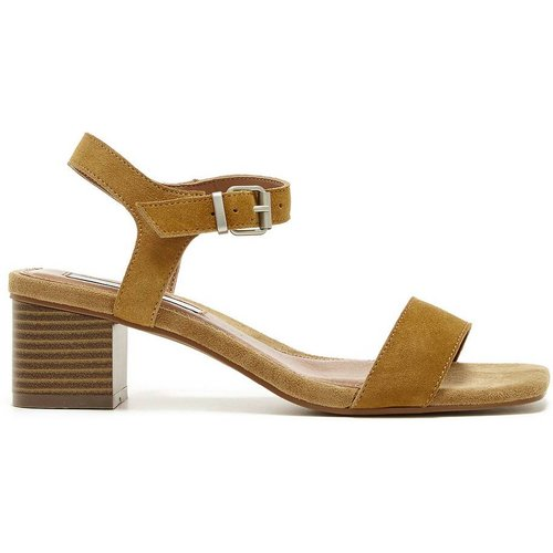 Sandales en cuir talon large - Pepe Jeans - Modalova