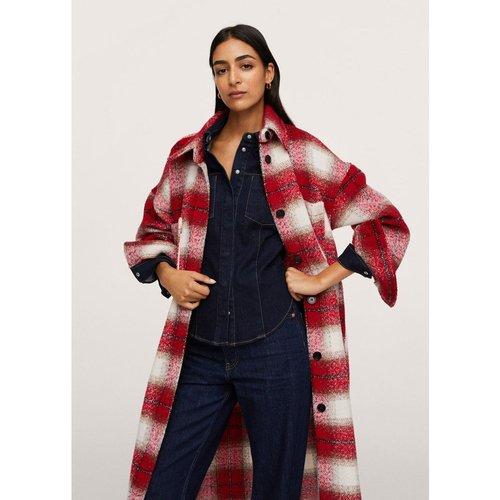 Manteau oversize à carreaux - Mango - Modalova