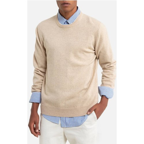 Pull col rond en lambswool, Philippe - LA REDOUTE COLLECTIONS - Modalova