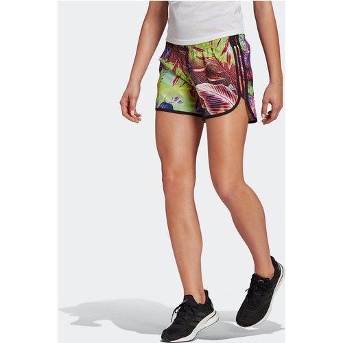 Short de running, motif floral - adidas performance - Modalova