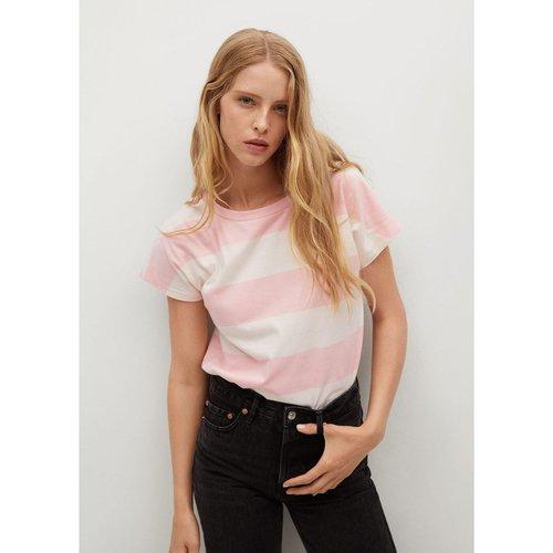 T-shirt basique en coton - Mango - Modalova