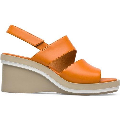 Sandales lateforme cuir Kyra - Camper - Modalova