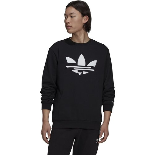 Sweat col rond gros logo trefoil - adidas Originals - Modalova