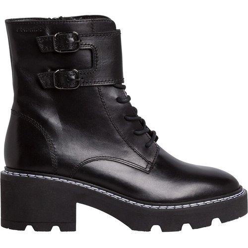Boots cuir à lacets - tamaris - Modalova