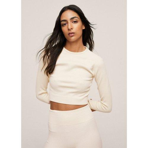 T-shirt manches longues sans couture - Mango - Modalova
