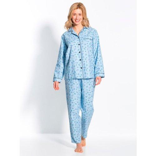 Pyjama en flanelle pur coton - THERMOVITEX - Modalova